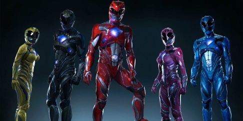 Οι στολές των Power Rangers.
