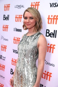 """Valorie Curry seen at Lionsgate's """"American Pastoral"""" Premiere at the 2016 International Film Festival on Friday, Sept. 9, 2016, in Toronto. (Photo by Eric Charbonneau/Invision for Lionsgate/AP Images)"""