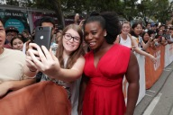 """Uzo Aduba seen at Lionsgate's """"American Pastoral"""" Premiere at the 2016 International Film Festival on Friday, Sept. 9, 2016, in Toronto. (Photo by Eric Charbonneau/Invision for Lionsgate/AP Images)"""