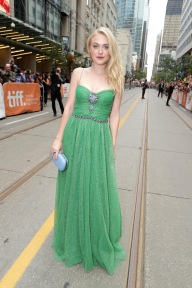 """Dakota Fanning seen at Lionsgate's """"American Pastoral"""" Premiere at the 2016 International Film Festival on Friday, Sept. 9, 2016, in Toronto. (Photo by Eric Charbonneau/Invision for Lionsgate/AP Images)"""