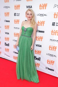 "Dakota Fanning seen at Lionsgate's ""American Pastoral"" Premiere at the 2016 International Film Festival on Friday, Sept. 9, 2016, in Toronto. (Photo by Eric Charbonneau/Invision for Lionsgate/AP Images)"
