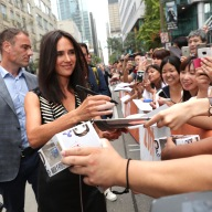 "Jennifer Connelly signs autographs at Lionsgate's ""American Pastoral"" Premiere at the 2016 International Film Festival on Friday, Sept. 9, 2016, in Toronto. (Photo by Eric Charbonneau/Invision for Lionsgate/AP Images)"