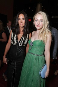 """Jennifer Connelly and Dakota Fanning are seen at Lionsgate's """"American Pastoral"""" Premiere at the 2016 International Film Festival on Friday, Sept. 9, 2016, in Toronto. (Photo by Eric Charbonneau/Invision for Lionsgate/AP Images)"""