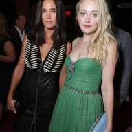 "Jennifer Connelly and Dakota Fanning are seen at Lionsgate's ""American Pastoral"" Premiere at the 2016 International Film Festival on Friday, Sept. 9, 2016, in Toronto. (Photo by Eric Charbonneau/Invision for Lionsgate/AP Images)"