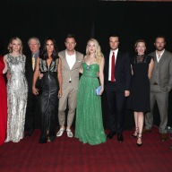 "Uzo Aduba, Valorie Curry, Peter Riegert, Jennifer Connelly, Jennifer Connelly, Director Ewan McGregor, Dakota Fanning, Rupert Evans, Molly Parker, Mark Hildreth and David Strathairn are seen at Lionsgate's ""American Pastoral"" Premiere at the 2016 International Film Festival on Friday, Sept. 9, 2016, in Toronto. (Photo by Eric Charbonneau/Invision for Lionsgate/AP Images)"