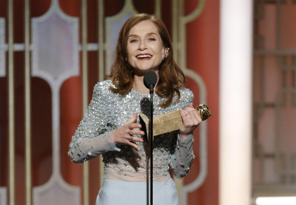 la-et-74th-golden-globe-awards-isabelle-huppert-20170108