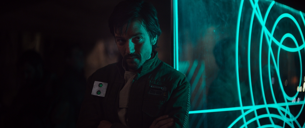 Rogue One: A Star Wars Story (Diego Luna) Ph: Film Frame ©Lucasfilm LFL