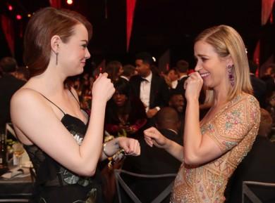 Emma Stone και Emily Blunt