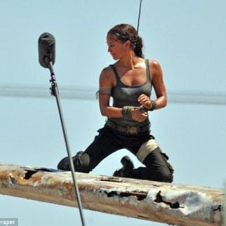Alicia Vikander, Lara Croft 11