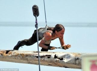 Alicia Vikander, Lara Croft 05