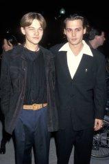 Από αριστερά: Leonardo DiCaprio και Johnny Depp, Los Angeles, 12 Δεκεμβρίου, 1993 | Ron Galella, Ltd.—WireImage