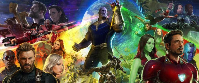 Avengers: Infinity War Mega Poster - Comic Con