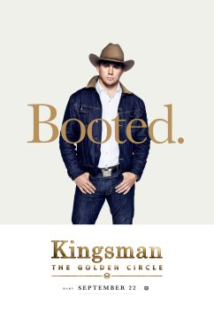 Kingsman: The Golden Circle Poster, Comic-Con 2017 Αφίσα, SDCC, Channing Tatum