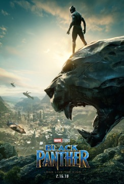 Black Panther Poster - Μαύρος Πάνθηρας Αφίσα (Comic-Con 2017)