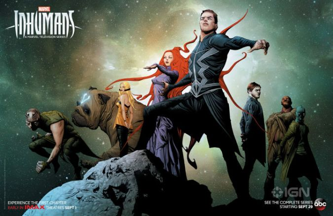 Inhumans Αφίσα, Marvel, Comic Con 2017, SDCC