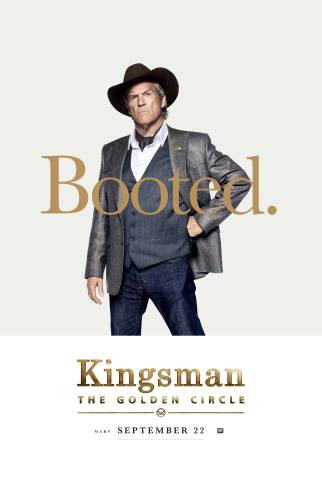 Kingsman: The Golden Circle Poster, Comic-Con 2017 Αφίσα, SDCC, Jeff Bridges