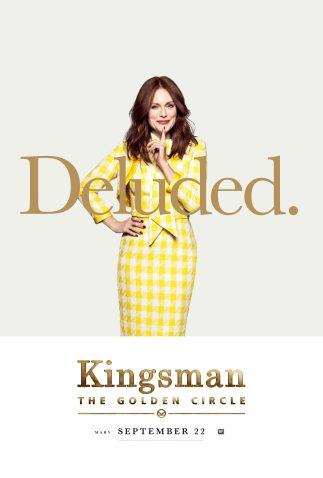 Kingsman: The Golden Circle Poster, Comic-Con 2017 Αφίσα, SDCC, Julianne Moore