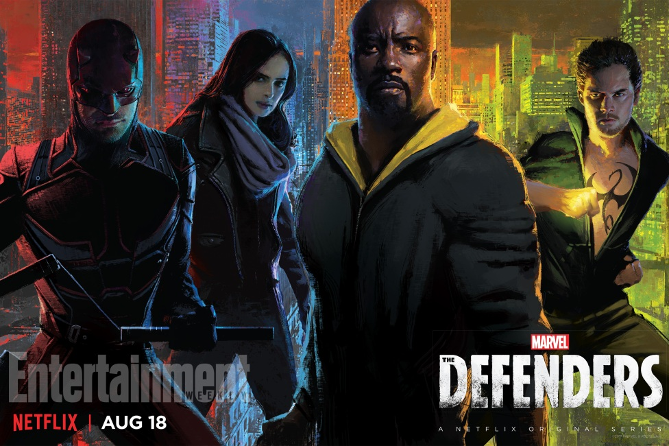 The Defenders Αφίσα, Netflix, Comic Con 2017, SDCC