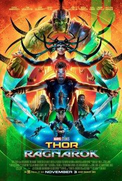 Thor Ragnarok Poster Comic Con 2017 - SDCC